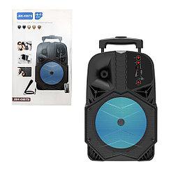 Портативная караоке-система Bluetooth JBK 0807S, Black