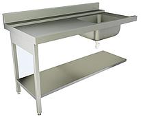 Стол для посудомоечной машины Kayman СПМ-111/1207 П