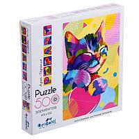 Пазл 500 элементов «Поп-арт. Котёнок»