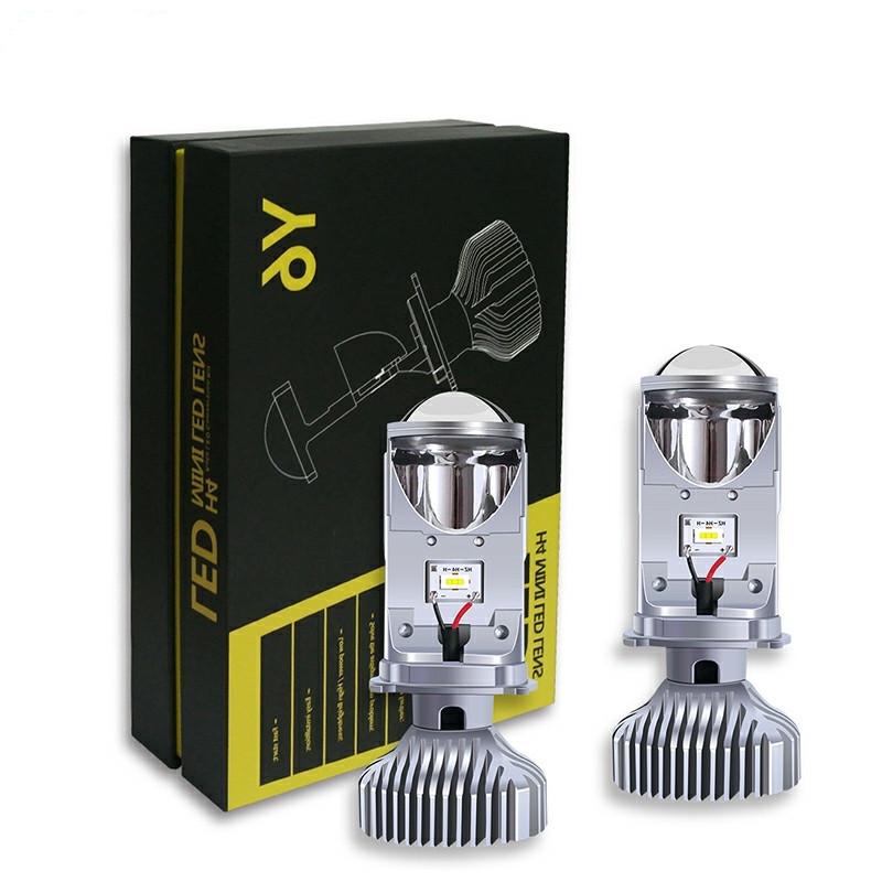Мини линзы H4 LED V2 30W