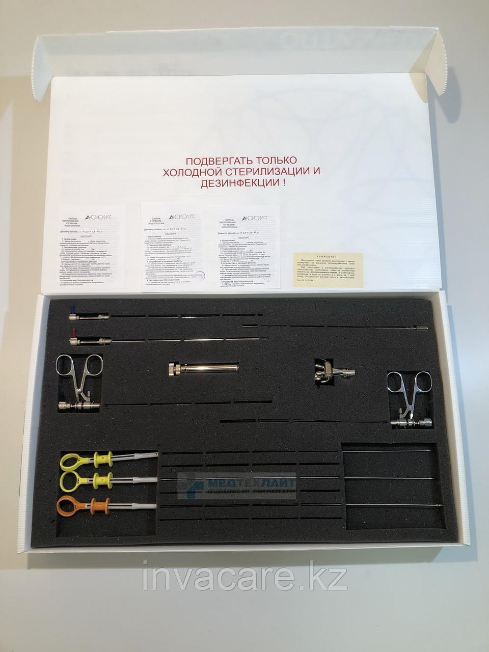 Цистоуретроскоп операционный ЦуО-ВС-11 мод. 521S (комплект с гибким и жестким инструментом)
