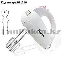 Ручной миксер электрический с 4 насадками с 5 режимами мощности Haley HY-1633