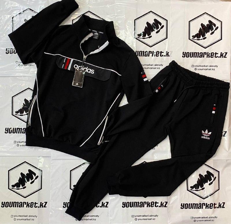 Спортивный костюм Adidas Black в Алматы