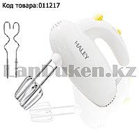 Ручной миксер электрический с 4 насадками 5 режимами мощности с кнопкой для отсоединения насадок Haley HY-1635