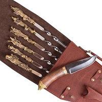 Шампурница подарочная 'Чехол ружья - Медведь'