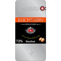 Bucheron горький шоколад с фундуком в железной упаковке  100гр (10шт - упак)