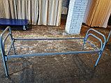 Кровать металлическая облегченная, фото 4