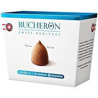 Bucheron шоколадные конфеты Трюфель с цельным фундуком в картоне  175гр (6шт - упак)