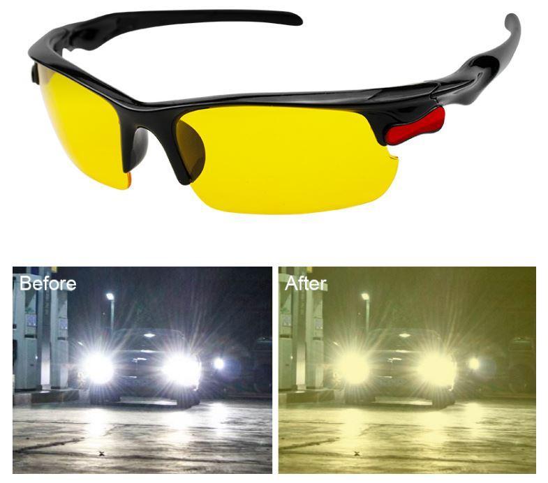 Стильные очки для  вождения. Антифары