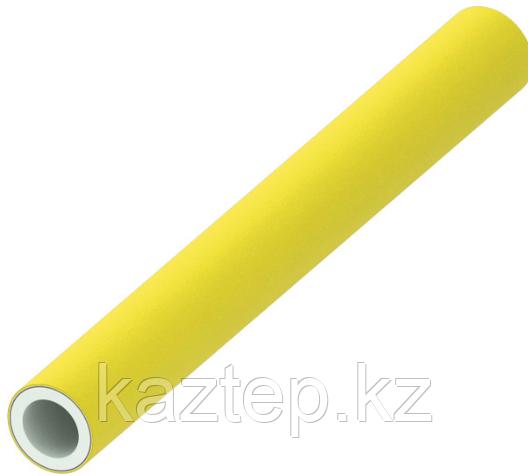 Многослойная композитная труба для газа TECEflex PE-Xc/Al/PE-RT, желтая