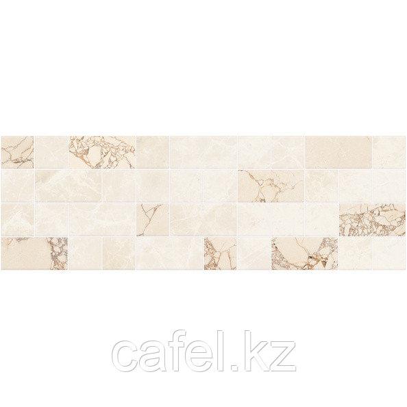 Кафель | Плитка настенная 20х60 Ринальди | Rinaldi бежевый декор мозайка