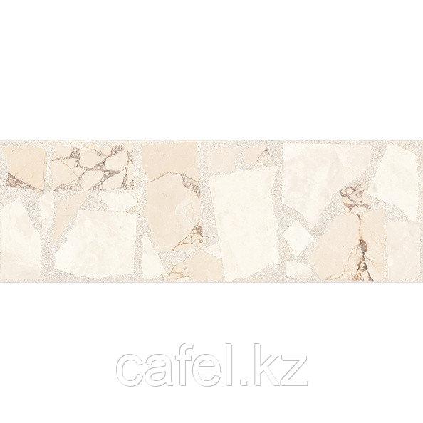 Кафель | Плитка настенная 20х60 Ринальди | Rinaldi бежевый декор массив