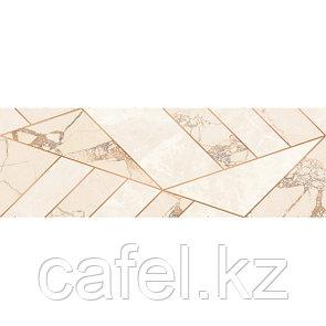 Кафель | Плитка настенная 20х60 Ринальди | Rinaldi бежевый декор