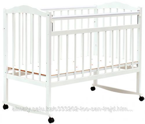 Кровать детская Bambini Классик( Белый ,слоновая кость)