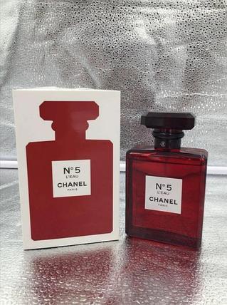 Chanel No 5 L'Eau Chanel red edition для женщин 100ml, фото 2