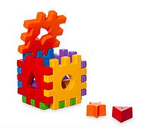 """Развивающая игрушка """"Волшебный куб"""" 12 элементов, сортер"""