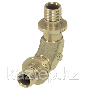 Уголок соединительный 90° TECEflex, с низким падением давления, бронза/кремнистая бронза