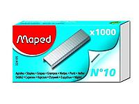 Скобы MAPED для степлера №10, 1000 шт/кор