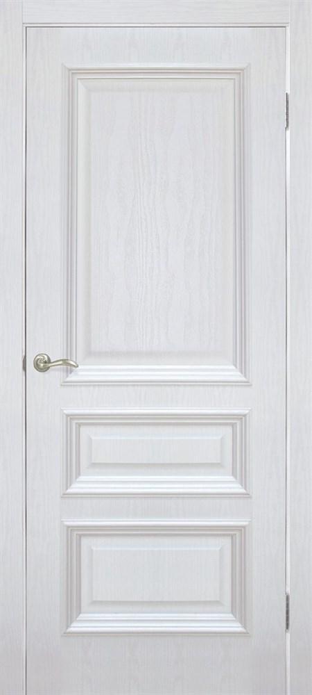 Полотно ОМИС дверное Сан Марко1.2 ПГ (пленка ПВХ) 900*2000*40 ясень перламутр