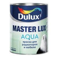 Эмаль Акриловая Полуглянцевая DULUX MASTER LUX AQUA 40 BW 2,5