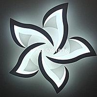 """Потолочная светодиодная люстра """"Пламя"""" на 5 ламп 88015-5( Нур-Султан)"""