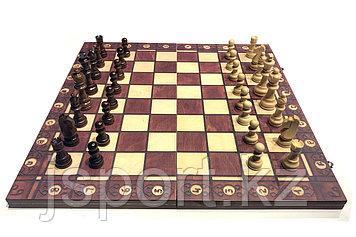 Шахматы 3 в 1 (440мм х 440 мм)