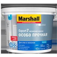 Краска Латексная MARSHAL EXPORT 7 BW 4,5л