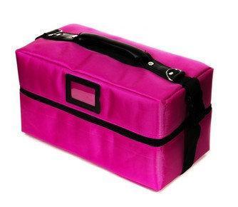 Кейс для мастера маникюра тканевый ,Розовый