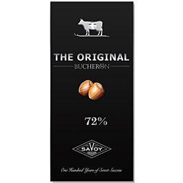 SWISS ORIGINAL горький шоколад с фундуком в картоне 100гр (10шт - упак)