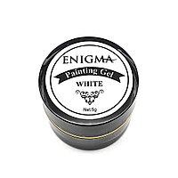 Гель-краска белая с липким слоем Enigma, 5гр