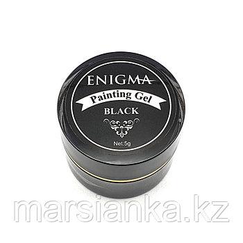 Гель-краска черная с липким слоем Enigma, 5гр