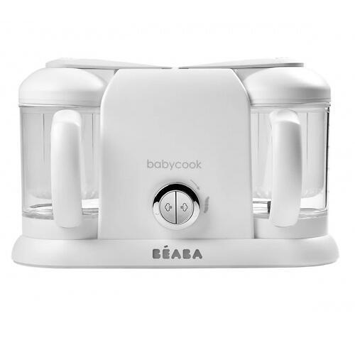 Блендер-пароварка Beaba Babycook Duo White Silve