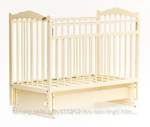 Кровать детская Bambini Классик (слоновая кость)