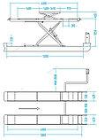Подъемник ножничный для сход-развала г/п 4,5 т, 2 уровня подъема (с аварийным опусканием) NORDBERG, фото 2