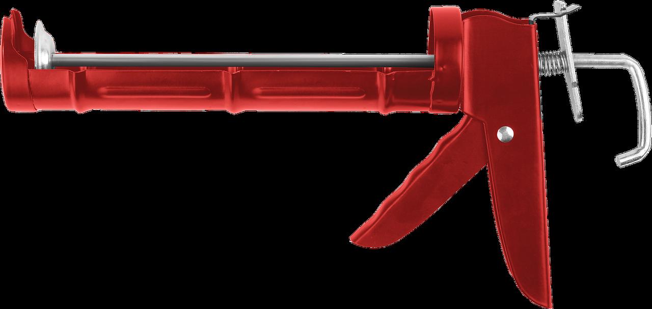 ЗУБР полукорпусной пистолет для герметика Мастер, 310 мл.