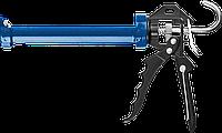 ЗУБР скелетный пистолет для герметика Профессионал, усиленный, поворотный, 310 мл., фото 1