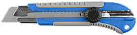 Нож с винтовым фиксатором ПРО-25, сегмент. лезвия 25 мм, ЗУБР Профессионал