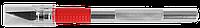 """Набор ЗУБР Нож """"Мастер"""" для художеств. и дизайнер. работ, с перовым лезвием, метал. корпус, сталь У8А, 5"""