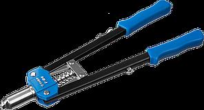 """Заклепочник двуручный силовой, ЗУБР """"Т-64"""" 31197, для заклёпок d=3,2-6,4 мм - алюминий, сталь, нерж сталь,"""