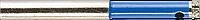 Сверло алмазное трубчатое по стеклу и кафелю, d=4 мм, зерно Р 100, ЗУБР Профессионал 29860-04