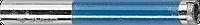Сверло алмазное трубчатое по стеклу и кафелю, d=6 мм, зерно Р 100, ЗУБР Профессионал 29860-06