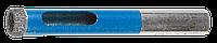 Сверло алмазное трубчатое по стеклу и кафелю, d=8 мм, зерно Р 100, ЗУБР Профессионал 29860-08