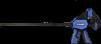 """Струбцина ЗУБР""""Профессионал""""ручная пистолетная, корпус нейлон,армир фиберглассом,двухкомп ручки,метал, фото 1"""