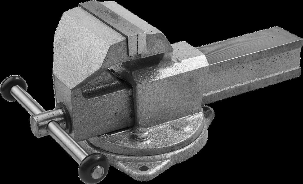 ЗУБР ЭКСПЕРТ, 125 мм, тиски слесарные