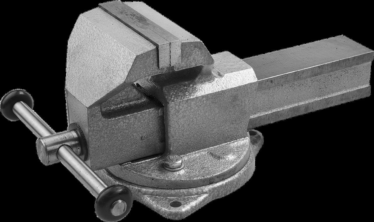 ЗУБР ЭКСПЕРТ, 140 мм, тиски слесарные