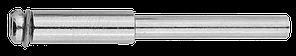 Оправка ЗУБР для отрезных и шлифовальных кругов, d 3,2х 2,2мм, L 38мм