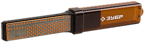 Брусок ЗУБР с алмазным напылением правочный двухсторонний, в пенале, P 325/600, 100мм