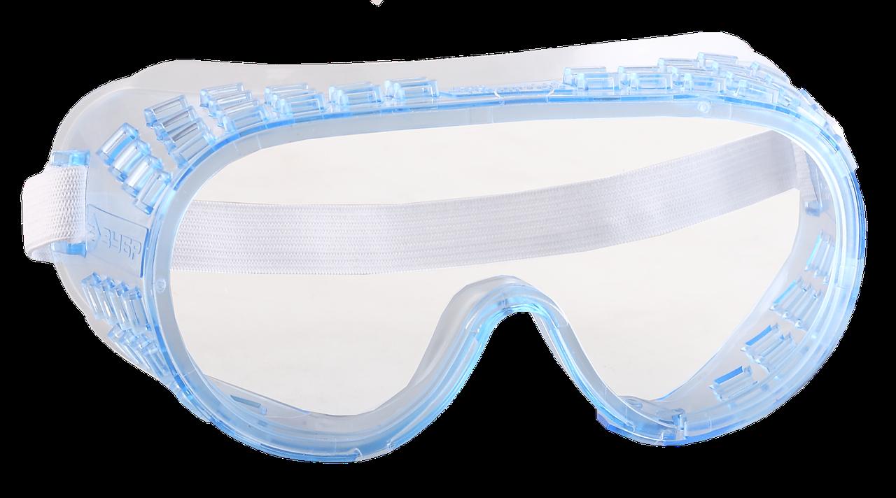 ЗУБР ФОТОН ударопрочные очки защитные  с непрямой вентиляцией, закрытого типа.