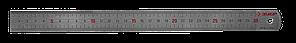 """Линейка ЗУБР """"ЭКСПЕРТ"""" нержавеющая, двусторонняя, непрерывная шкала 1/2мм / 1мм, двухцветная, длина 0,3м,"""