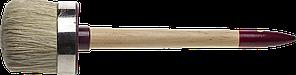 """Кисть круглая ЗУБР """"УНИВЕРСАЛ - МАСТЕР"""", светлая щетина, деревянная ручка, №22, 70мм"""